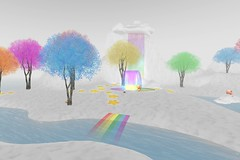 BuenaVista Sim - Rainbow Connection Cart Sale (melyna.foxclaw) Tags: iheartthecartsale rainbowconnection pastels stars decor dreamy secondlife slevents grounds sales iheartslfeed landscapes virtualworlds