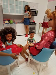 Happy 4th of July! I hope everyone has a safe, fun holiday. 🎆 #barbie #diorama #4thofjuly #barbiekitchen #barbiefood #rement #Mattel (wpnschick) Tags: barbiekitchen mattel diorama rement 4thofjuly barbie barbiefood