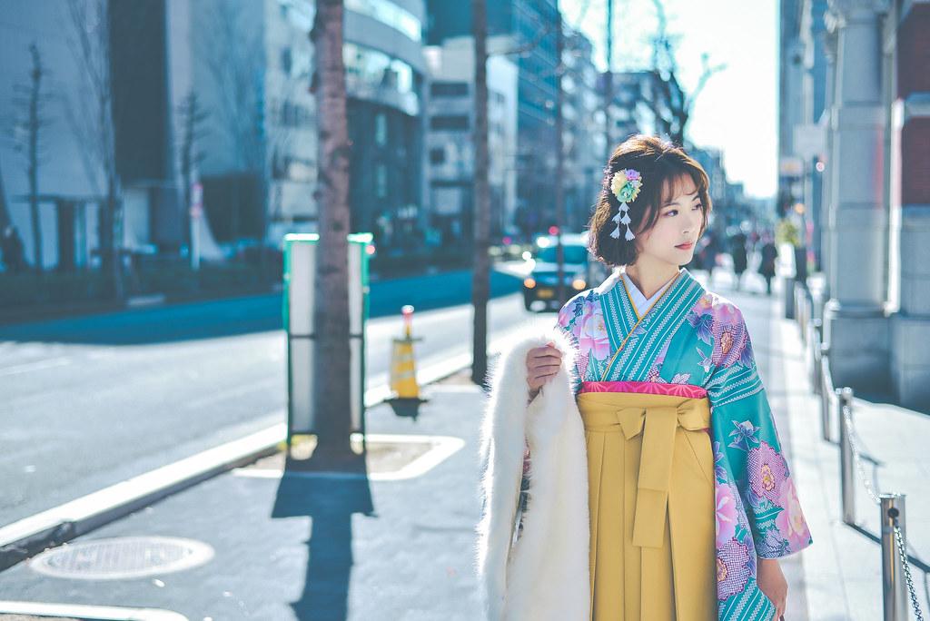 walking around kyoto in kimono-1