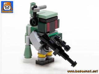 Mini Bricks Boba Fett 02
