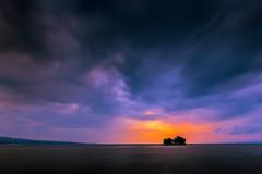 sunset 1259 (junjiaoyama) Tags: japan sunset sky light cloud weather landscape purple blue orange contrast color bright lake island water nature summer