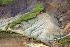 Sogin (hó) Tags: sogin grænadyngja reykjanesskagi geothermal geology colours grass iceland landscape july 2017 slope