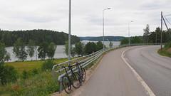 2018 Bike 180: Day 149, July 8 (olmofin) Tags: 2018bike180 finland bicyle polkupyörä lake espoo nuuksion pitkäjärvi road