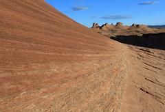 Pilgrim Path (Golden Ginkgo) Tags: page arizona newwave rockformations sandstones