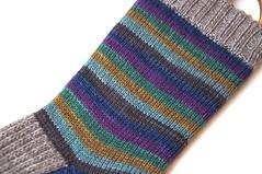 chd bym di sock leg (thing4string) Tags: knit knitting handknit handknitting handknitted socks selfstriping wool yak merino nylon canonhanddyes athingforstring stripes