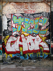 Chor (Alex Ellison) Tags: birmingham england uk urban graffiti graff boobs chor