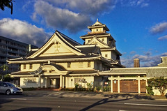 Makiki Christian Church (jcc55883) Tags: architecture architectural edo japanesecastle 16thcenturyjapan redwood makiki makikichristianchurch pensacolastreet hawaii historichawaii church honolulu ipad oahu luckywelivehawaii
