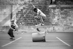 Dale Russel- Kickflip (Nathan Gentry) Tags: skateboarding skate skateboard skateboarder tricks athletes stunts extreme xtreme sports thrasher sportsphotography balckandwhite blackwhite contrast fade clarity filter sigmaart sigma nikond750 nikon d750 pittsburgh pa pennsylvania stripdistrict kickflip