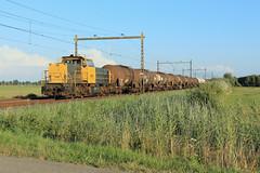 DB Cargo 6461-6469 @ Harculo (Sicco Dierdorp) Tags: db dbc cargo serie6400 geelgrijs 6461 unitcargo onnen kijfhoek ketelwagen keteltrein deventer wijhe harculo ijssellijn