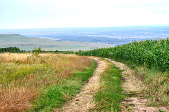 hilly landscape of the North Caucasus, there is no sun - the sky is boring (uiriidolgalev) Tags: hillylandscapeofthenorthcaucasus thereisnosuntheskyisboring