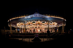 Carousel (Quentin K) Tags: disney carousel theme park usa america anaheim night contrast