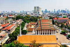 Bangkok (stuckinseoul) Tags: fujifilmx100s asian bangkok asia travel x100s goldenmount city fujifilm watsaket temple capital thailand krungthepmahanakhon th