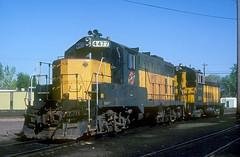 C&NW GP7R 4477 (Chuck Zeiler) Tags: cnw gp7r 4477 railroad emd locomotive minneapolis train chuckzeiler chz