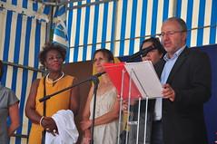 DSC_0856 (villenevers) Tags: neversplage unétéànevers plage loire inauguration discours maire thuriot