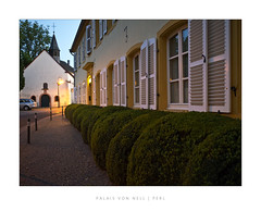 Palais von Nell | Perl (ej foto) Tags: palaisvonnellperl ejfotografik mettlach germany new trail landscape panorama nature trees green light sun fog clouds autumn sky photography mft microfourthird flickr flickriver most interesting explore