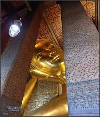 Bangkok Wat Pho Buddha 20180206_134709 DSCN2823 (CanadaGood) Tags: asia seasia asean thailand thai ราชอาณาจักรไทย bangkok krungthep watpho recliningbuddha buddha buddhist statue gold temple building architecture canadagood 2018 thisdecade color colour
