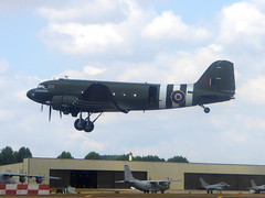 ZA947 Douglas Dakota III cn 10200 Royal Air Force RAF Fairford 14Jul18 (kerrydavidtaylor) Tags: ffd egva royalairforce c47 skytrain