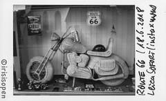 Route 66 us # 008 # Leica SOFORT Fuji instax mini MONOCHROME - 2018 (íṛíṡíṡôṗĕñ ◎◉◎) Tags: leica sofort film instant analog schwarzweiss bw instax monochrome irisisopen