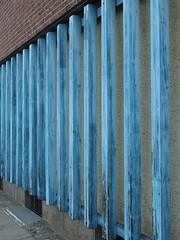 Blue Beam (mkorsakov) Tags: dortmund city innenstadt innenstadtost blau blue balken beam struktur structure lines linien architektur architecture minimal