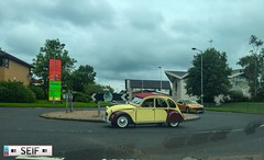 Citroen 2CV East kilbride Scotland 2016 (seifracing) Tags: citroen 2cv east kilbride scotland 2016 seifracing spotting services emergency europe rescue recovery transport traffic road vans cars car seif security photography photographe