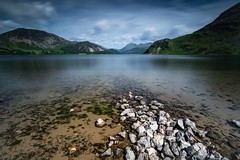 Ennerdale Water and Pillar (davidglossop) Tags: breathtakinglandscapes globallandscapesinmonochromevision panoramic sky clouds tranquil polarised leefilters cumbria britain england summer benro d850 nikon longexposure wideangle landscape peaceful mountain green blue nationalpark district lakedistrict lake water ennerdale
