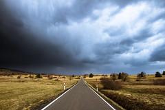 Long road home (Setekh81) Tags: natur orte rhön strase unwetter wolken