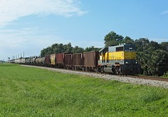 504, Belle Glade FL, 29 Nov 2017 (Mr Joseph Bloggs) Tags: ussc united states sugar corporation south central florida express emdgp40 emdgp402 emd gp402 electro motive division clewiston fort pierce local belle glade railway railroad train treno locomotive bahn