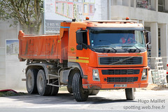 Colas | Volvo FM12 (spottingweb) Tags: spotting spotted spotter spottingweb véhicule vehicle france camion lorry truck pl poidslourd engin chantier travaux btp tp travauxpublics construction work construct build machine colas bouygues orange volvo fm