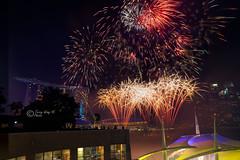 NDP 2018 Fireworks Rehersal (30-Jun) (terrywongyl) Tags: fireworks ndp 2018 rehersal mbs skyline night longexposure nightscape singapore marina bay sands national day parade