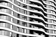 Ripples (Douguerreotype) Tags: london monochrome uk blackandwhite abstract british buildings mono architecture city window britain urban gb bw england