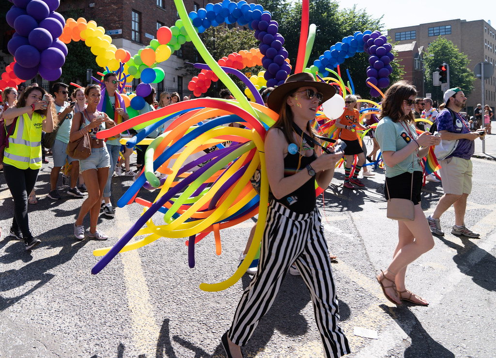 ABOUT SIXTY THOUSAND TOOK PART IN THE DUBLIN LGBTI+ PARADE TODAY[ SATURDAY 30 JUNE 2018] X-100273