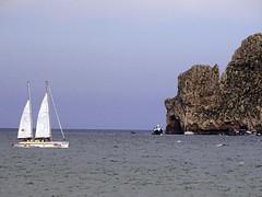 Vaixells i l'illa