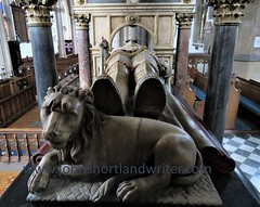 At the Feet of the Master (john shortland) Tags: stone marble carving sculpture tomb exeter stmarys stamford lincolnshire churchofengland column lion feet memorial earl interior knight pews mat