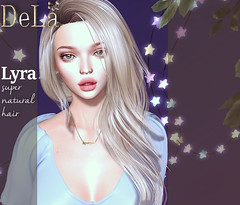 """=DeLa*= new hair """"Lyra"""" (=DeLa*=) Tags: dela hair fitted rigged mesh materials secondlife secondlifefashion sl slhair style new"""