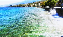 🌊 (__jo_) Tags: greece greeksummer greek summer summervibes hellas colors color colours colour green blue beachlife beauty beach seaside sea sealife pic photography photo vacation