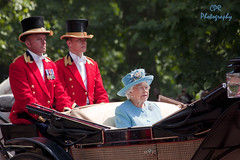 HRH The Queen (Chris R82) Tags: london troopingthecolour royalty british june army householdcavalry queen thequeen