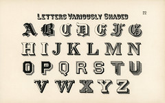 Different types of shadings on fonts from Draughtsman's Alphabets by Hermann Esser (1845–1908). Digitally enhanced from our own 5th edition of the publication. (Free Public Domain Illustrations by rawpixel) Tags: otherkeywords az alphabets ancient antique background cc0 classic creativecommon0 creativecommons0 design draughtsman draughtsmansalphabets english esser font fonts graphic hermann hermannesser illustration isolated latin letter letters old palewhite print publicdomain shaded shading shadings styles text variously vintage writing