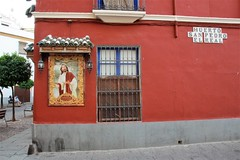 Good shepherd (Andrew 62) Tags: jesus christ cordoba huertosanpedroelreal building architecture street window