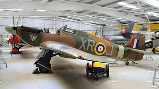 Hawker Hurricane Mk.IIa United Kingdom Air Force serial Z2389 code XR-J