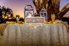 White wedding.... table? (Eve Photography By JC Clemens) Tags: wedding table decorations lighting cloth stock photo nikon d610 sunset cave creek arizona outdoors
