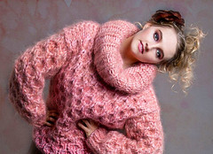 39641_edit (ducksworth2) Tags: knit knitwear sweater jumper mohair fluffy chunky bulky thick fuzzy soft cableknit cables turtleneck rollneck