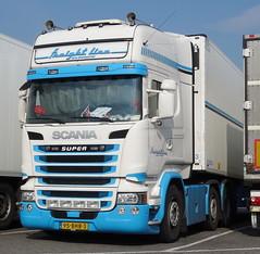 Scania R TL streamline Freightline (rommelbouwer) Tags: scania freightline