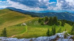 Blick vom Brandkogel zum Rappoldkogel (Bikerwolferl) Tags: natur berg landschaft landschaftspanorama anhöhe imfreien alpenlandschaft ländlichesmotiv wolkehimmel schönheitdernatur nature mountain landscape scenics hill outdoors ruralscene cloudsky