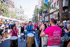 Hogueras de San Juan (Alicante) 2018