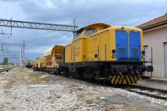 Treno Cantiere FERSALENTO (luciano.deruvo) Tags: fersalento trenocantiere stazione metaponto basilicata