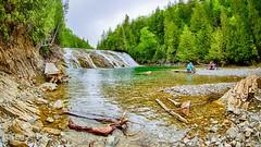 La rivière aux Émeraudes (sgauthier) Tags: rivière rapides gaspésie québec chute émeraudes duportage nature