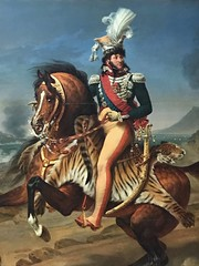Joachim Murat, King of Naples (malcolmharris64) Tags: joachim murat king naples army napoleon art painting portrait france artist gros louvre paris horse rider
