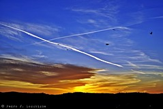 Sabadell, 22 gener 2018, 17:54 (Perikolo) Tags: sol sun posta puesta capvespre atardecer sunset núvols nubes clouds sabadell