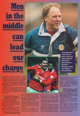 Scottish Football Today - August 1994 - Page 34 (The Sky Strikers) Tags: scottish football today magazine august 1994 one pound fifty theo snelders