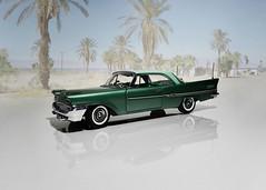 1958 Chrysler New Yorker Hardtop Coupe - The Danbury Mint 1:24 (BlueAtlantic38) Tags: usa chrysler mopar 1958 newyorker hardtop hobby scalemodel americancar thedanburymint 124 v8 coupe
